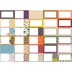 Picture of Pocket All About Fall Journal Cards by Lauren Hinds- Set 30